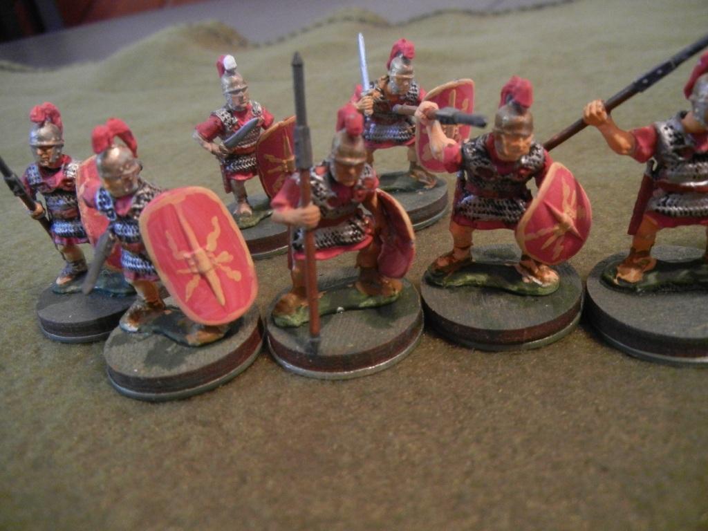 Indeed, a contubernium (squad) of Late Republic Romans.