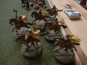 House Lannister Mounted Sergeants.